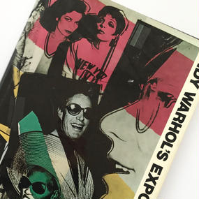 Title/ Andy Warhol's EXPOSURES    Author/ Andy Warhol