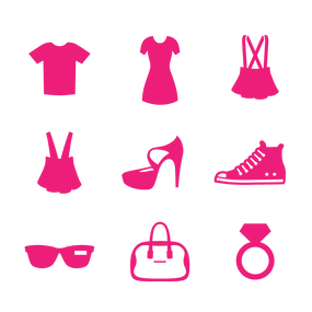 Fashion/EC pictograms