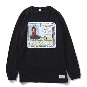 ODB LONG SLEEVE TEE(BLACK) : YUNG LENOX【CC16AW-TS-003】