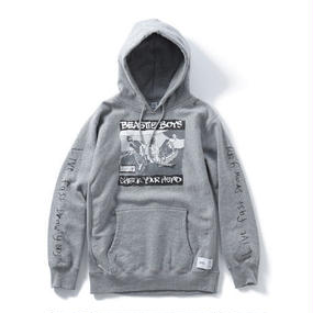 CHECK YOUR HOODIE (GREY) : YUNG LENOX【CC16AW-SW-003】