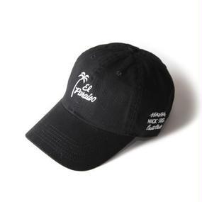 EL PARAISO CLASSIC CAP (BLACK) : STIKSTOK × MAGIC STICK【16AW-CULT-004】