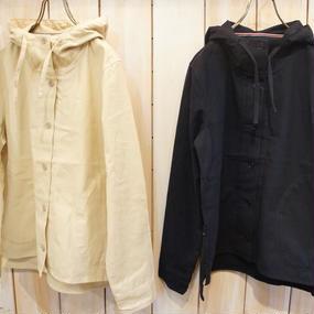 【NANEA】帆布・フード付きブルゾン