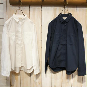 【NANEA】高密度コットン・シャツ