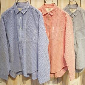 【NANEA】ギンガムチェックシャツ