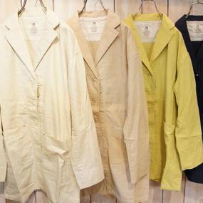 【NANEA】綿平織り・ショップコート