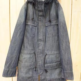 【NANEA】デニムフード付き・コート