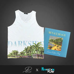 MENACE BEACH TANK TOP ~New Kid' Play × Darkside~