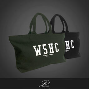 【W5HC】 / BIG LOGO TOTE BAG