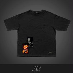 【DarkDarkDark】 /  Big silhouette-Tee