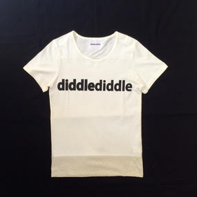 【2015 SPRING SUMMER COLLECTION】 SHOP 別注 DD T-SHIRTS / 12 WHITE