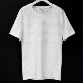 BORDER LACE T-SHIRTS / 11 WHITE