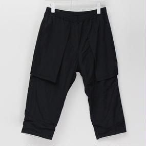 DOUBLE PANTS / 99 BLACK