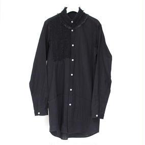 LACE SHIRTS / 99 BLACK