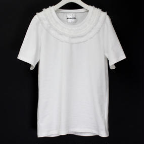 NECK LACE T-SHIRTS / 11 WHITE