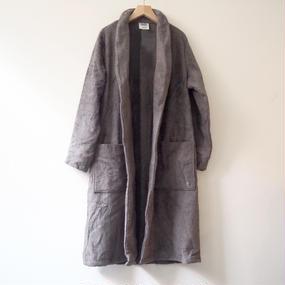THING FABRICS   Bath robes (Long Pile)  Gray
