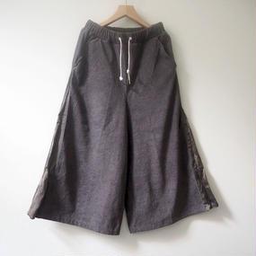 THING FABRICS  PALAZZO パンツ(gray)