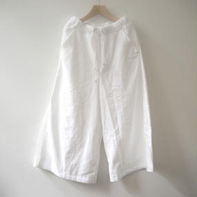 THING FABRICS PALAZZO パンツ(white)