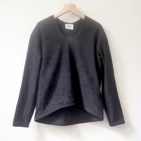THING FABRICSプルオーバーシャツ(black)