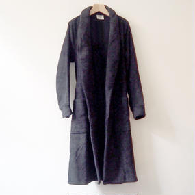 THING FABRICS   Bath robes (Long Pile)  Black