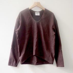 THING FABRICS プルオーバーシャツ(brown)