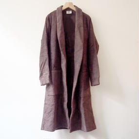 THING FABRICS   Bath robes (Long Pile)  Brown