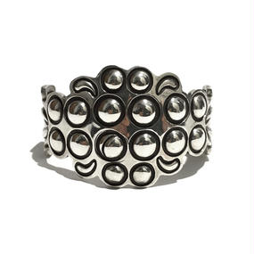 ALEX SANCHEZ SILVER BANGLE