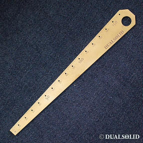 Brass Ruler 150mm