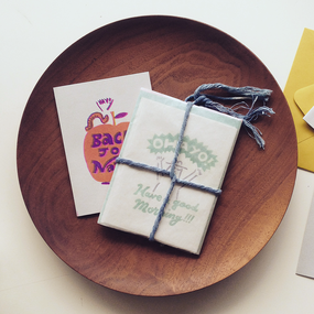 Early Birds × Lookout & Wonderland | OHAYO Greeting Card