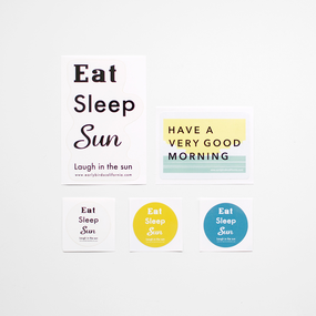 Early Birds | Original Sticker Set