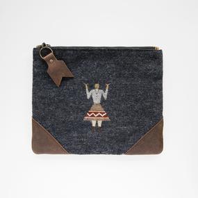 Me & Arrow | Vintage Fabric Clutch Bag  のコピー