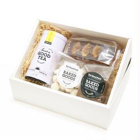 選べるT-bag8個入り缶&焼菓子詰め合わせBox