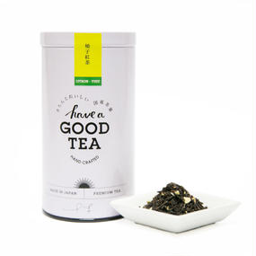 ゆず紅茶(リーフ40g缶)