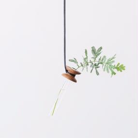 suspended flower  walnut