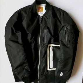 FR2  MA-1ジャケット ブラック