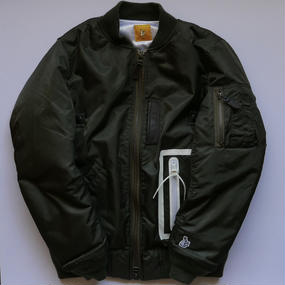 FR2 MA-1ジャケット カーキ