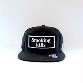"""Smoking kills""キャップ[FRA020]"