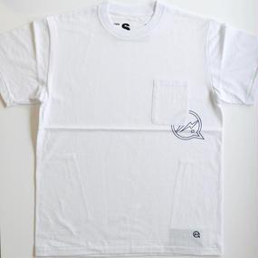 ポケット付きクルーネックTシャツ[VFC1048] ホワイト