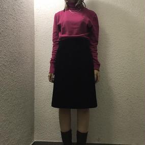 vintage ベロアスカート