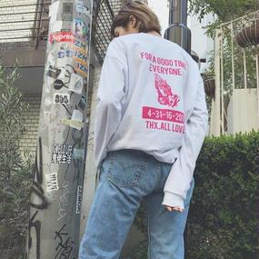 FA8158 PRAYER ロングスリーブTシャツ