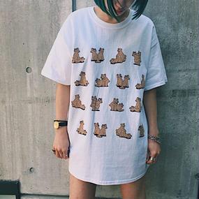 PA30033 エッチなくまちゃん半袖T-shirt