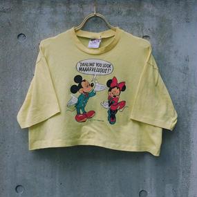 LOP1701173  vintage  ミッキー&ミニープリントTシャツ