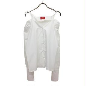 OH0022 オフショルダーシャツ