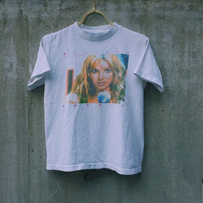 LOP1701790  vintage  Britney  Spears ちびTシャツ