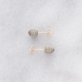 [18K GOLD COLLECTION] BOTANICAL STUDS_BLM1_S_18K