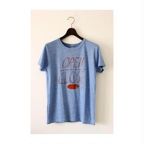 【CZAR】 オープンクローズTシャツ