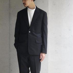 【Riprap】Wool Flannel 3B JKT ブラック