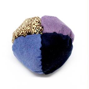 fuwafuwa〈ペイズリー×紺藍×紺×薄紫〉
