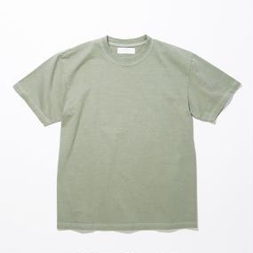Botanical Dyed T-shirts / GREEN