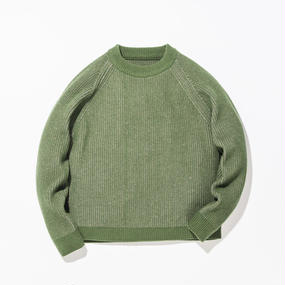 Grand Father Sweater / GREEN