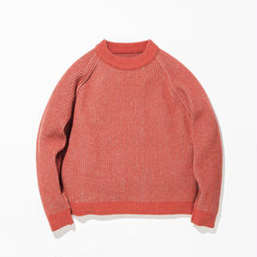 Grand Father Sweater / RED